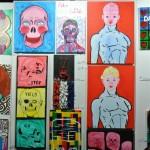 Paintings by Aaron LaPlante