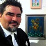 artist Jaime Fortunato Jimenez & his Queen of Wands