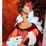 unidentified artist, Queen of Pentacles
