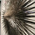 dangerous details... sculpture by Norman Moonsy