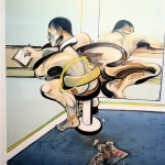 lithographic print, by Francis Bacon