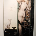 painting (or print)  by Michael Parkes