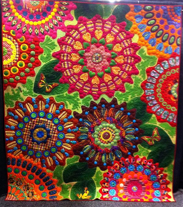 Inspiring 'Road to California' Quilt Show | TIFFINITY ART : show quilts - Adamdwight.com