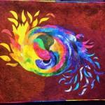 """Whirling Fire & Ice"" by Karen E Miller"