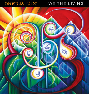 "My painting for the Darius Lux album cover: ""We The Living"""
